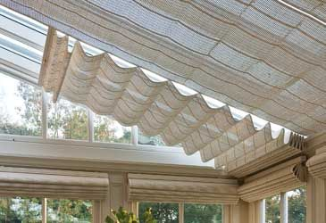 Blinds For The Glass Roof So It Doesn T Get As Hot Via Parish Conservatories Http Www Uk Rattanfurniture Com Product Diy Blinds Living Room Blinds Glass Roof
