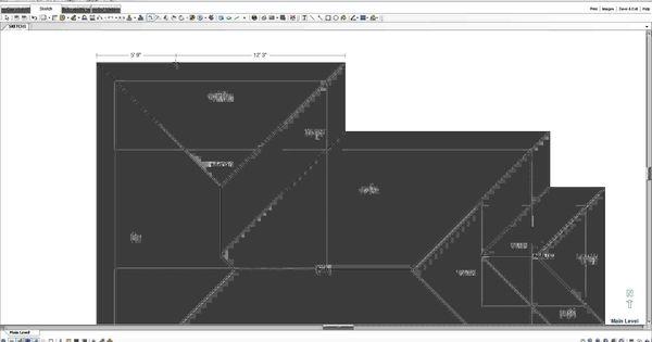 Topadjuster Com Xactimate Tutorial Hip Roof Sketch
