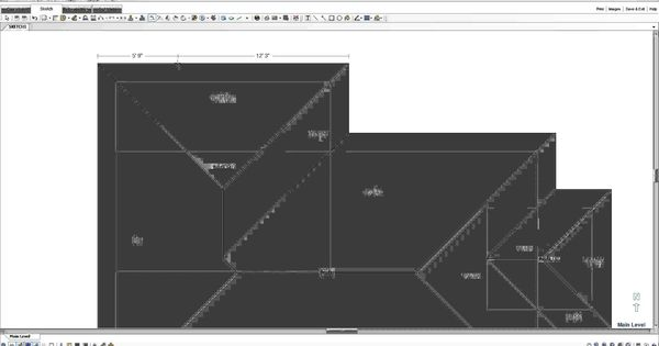 Xactimate tutorial hip roof sketch for Xactimate 28 tutorial