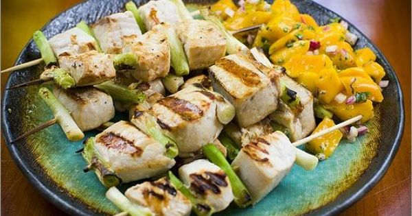 To be, Seafood and Kabobs on Pinterest