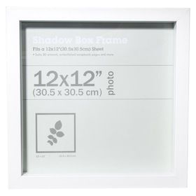 Photo Frame 12in X 12in Black Box Frames Shadow Box Frames Shadow Box