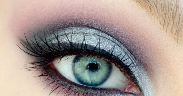purple silver makeup tutorial silver eye makeup and blue
