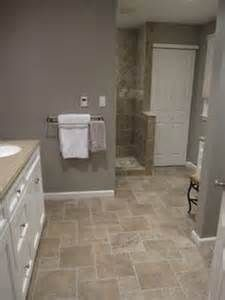 Gray And Tan Bathroom Paint Bing Images Bathroom Tile Floor Designs Traditional Bathroom Patterned Bathroom Tiles