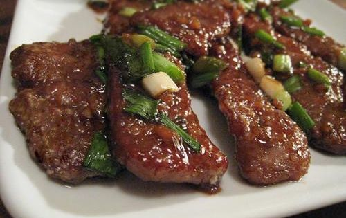 PF Chang's Mongolian Beef Recipe - Key Ingredient