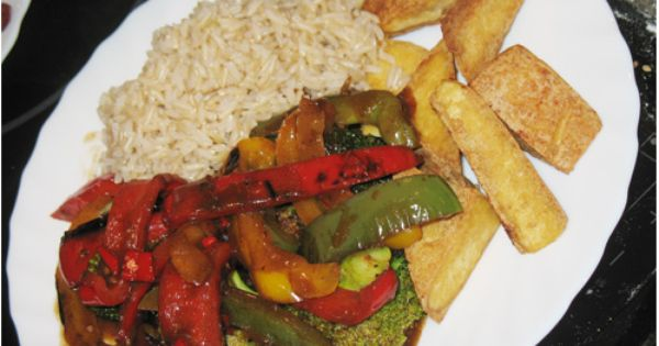 Stir fry, Tofu and Recipe on Pinterest