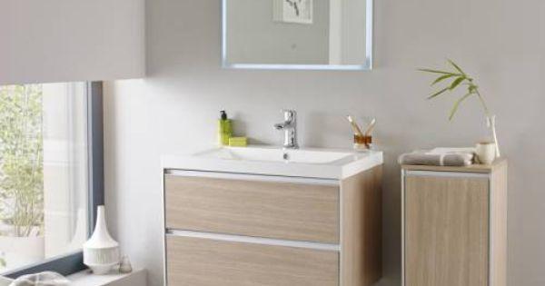 Hudson reed ensemble meuble sous lavabo 800x480x550mm for Ensemble lavabo salle de bain