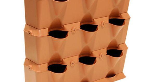 Minihuerto Minigarden Terracota Leroy Merlin 47 3 Modulos