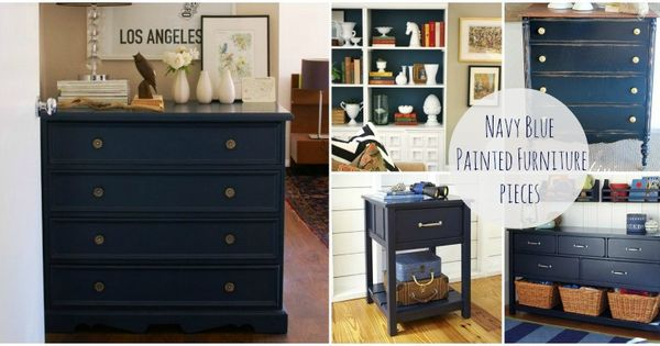 navy blue bedroom furniture navy painted furniture get inspired to re do some 16499