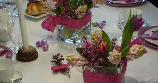 Tischdeko Geburtstagskaffee In Lila Tischdekoration Geburtstag 2
