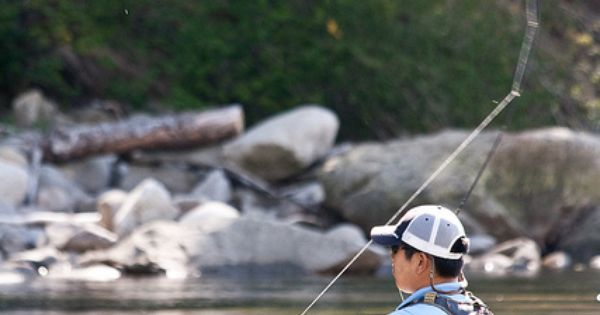Fly fishing fish on for more fly fishing info follow and for Fishing line home depot