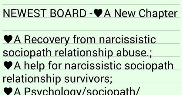 Sociopath dating relationship
