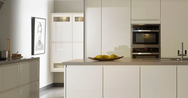 Kitchen John Lewis Skyline Ivory Handleless Inspiration For Kitchens