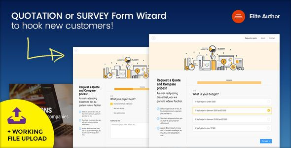 QUOTE - Quotation or Survey Form Wizard - survey form template