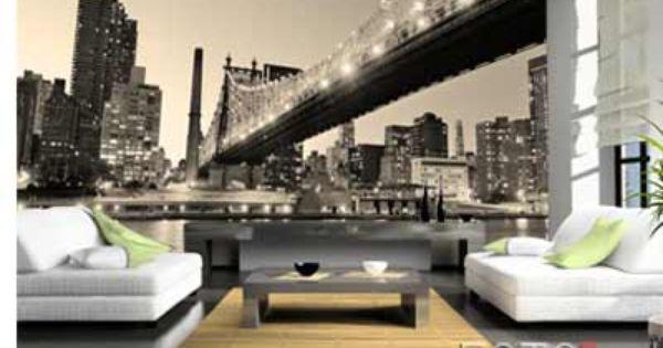 Echt Originele Decoratie Op Maat Foto4art Be Fotobehang Decoratie New York City