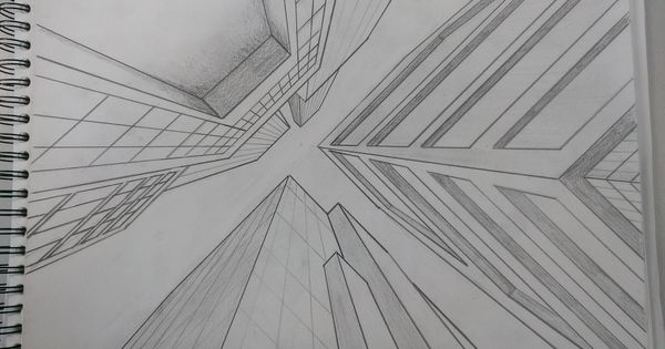 how to draw one point perspective eglinton west
