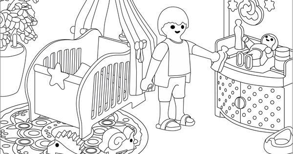 ausmalbilder playmobil  basteln mit kindern  pinterest