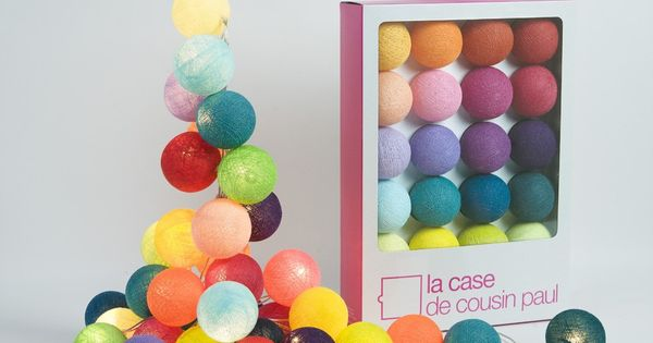 Ball Lights - La Case de Cousin Paul string lights multicoloured -