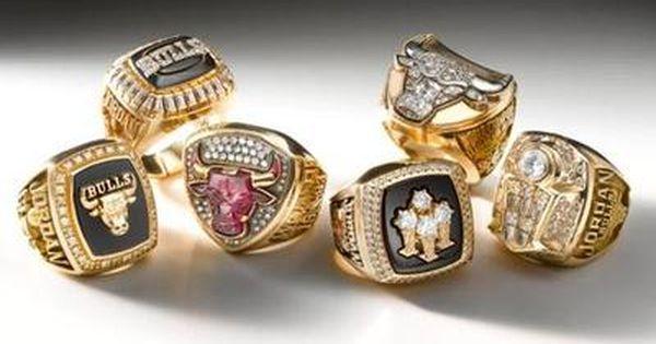 Michael Jordan S Six Championship Rings Championship