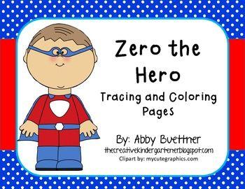 Zero The Hero Zero The Hero Superhero Preschool Numbers Preschool
