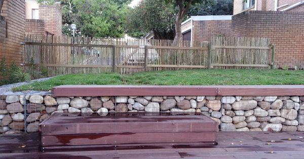 Landscaping Flagstaff Hill : Retaining wall outdoor ideas gabions walls gabion