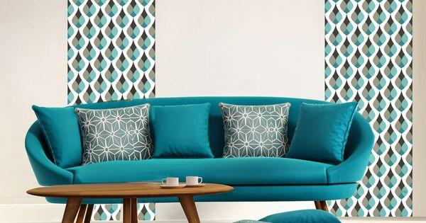 cr er un salon style scandinave prix doux joli place papier peint scandinave pas cher. Black Bedroom Furniture Sets. Home Design Ideas