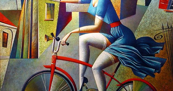 Bicycle Ride ~ Tour de France ~ by Georgy Kurasov