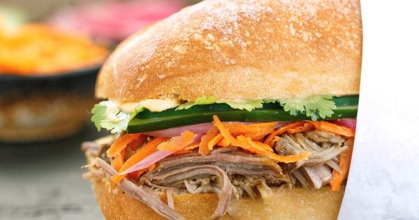 Pork, Pulled pork and Sandwiches on Pinterest