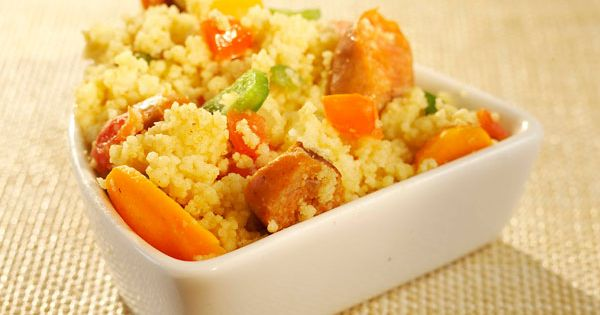 Couscous, Recipe and Sausages on Pinterest