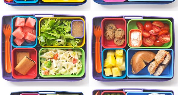 healthy lunches for kids ~ need to get new lunch box containers!!!