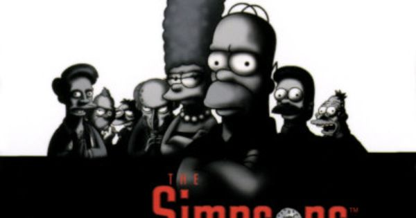 The Simpsons The Sopranos The Simpsons Sopranos Spoofs