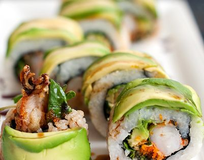 dragon roll sushi recipe | make your own sushi roll.