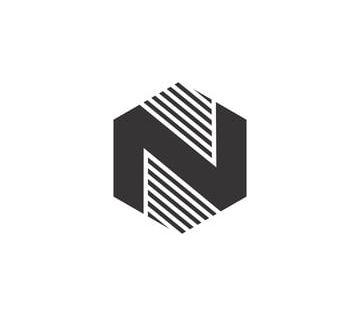 ن مسدس أسود شعار مكافحة ناقلات اي بي سي خلاصة الأبجدية Png والمتجهات للتحميل مجانا Hexagon Logo Mandala Logo Design Vector Logo