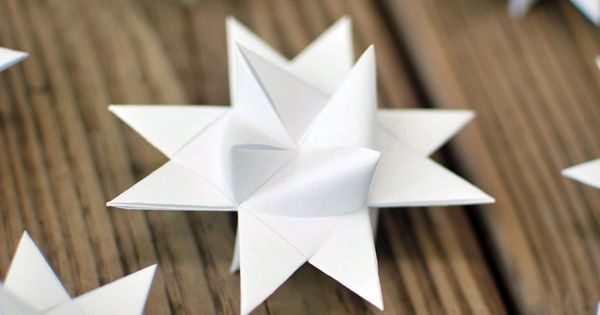 Christmas Stars Tutorial! A popular decoration in Denmark :)