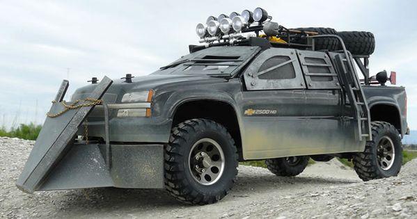 rc truck diagram 25 amazing zombie apocalypse rides to slay walkers ...