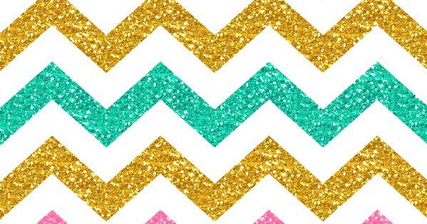 Pastel glitter chevron iphone wallpaper #spring | iPhone ...