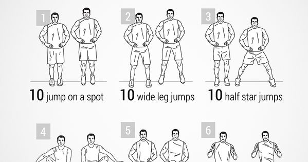 30 minute cardio workout for men
