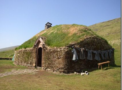 A Reconstruction Of Erik The Red S House In Iceland Erik