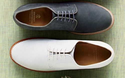 Colorful oxford shoes