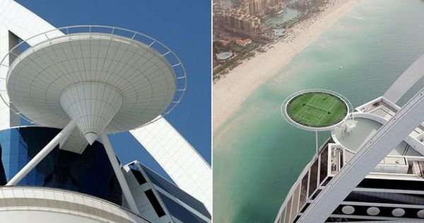 WORLD'S HIGHEST TENNIS COURT IN DUBAI