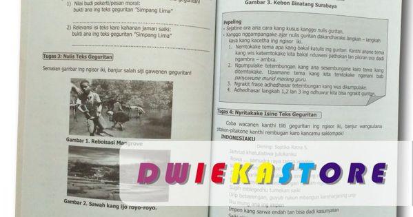Buku Paket Bahasa Jawa Kirtya Basa Kelas 8 Buku Bahasa Sekolah