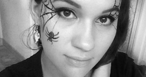 Spider Makeup Halloween Simple | Beauty and Hair | Pinterest ...