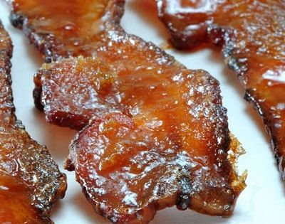Spicy sweet Bacon Candy