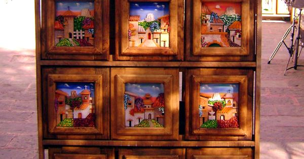 Paintings tequisquiapan queretaro mexico mexico for Cuadros mexicanos rusticos