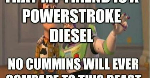 Ford Vs Chevy Trucks >> Powestroke Diesel Ford owners' Slogans | Ford Super Duty F ...