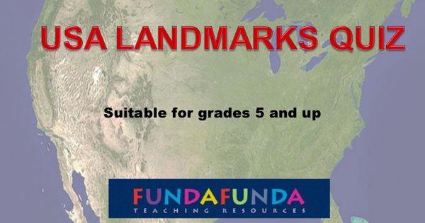 Us landmarks photo quiz geography fun pinterest for Fundafunda