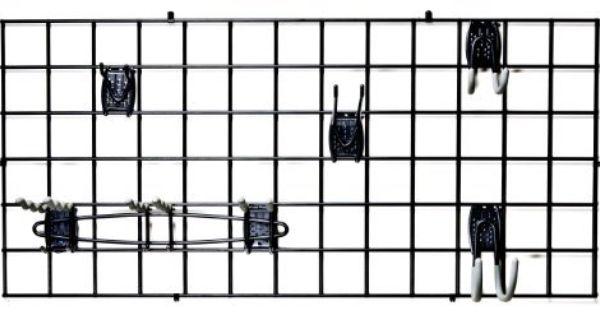 Schulte 7115 5700 50 Wire Grid Granite Gray By Schulte