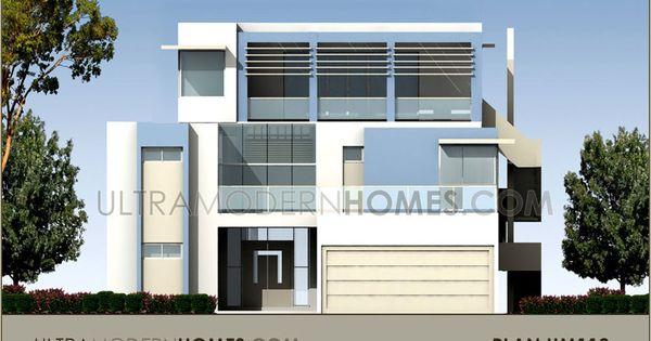 Stock plan um112 pre designed stock plans ultra modern for Pre designed home plans