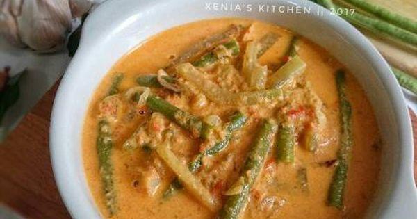 Resep Sayur Lodeh Kacang Panjang Labu Siam Oleh Retno Nia Sari Xenia S Kitchen Resep Resep Masakan Resep Masakan Indonesia