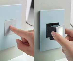 Cool Ways To Upgrade Your Light Switches And Sockets Light Switches And Sockets Light Switch Modern Light Switches