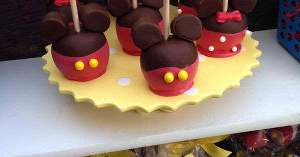 Disney Graduation End Of School Party Ideas Candy Apples